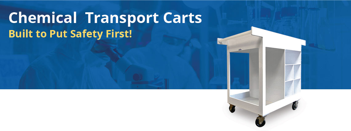 Chemical Transport Cart - Blog Header Image