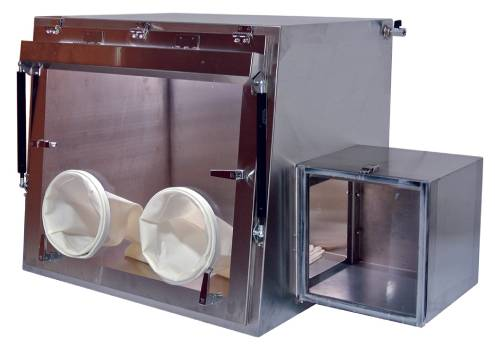 Stainless Steel Isolation Glove Box - 2800 Series