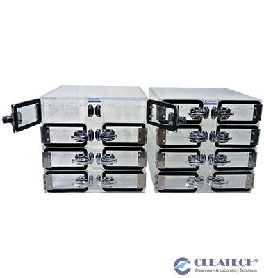 Custom Multi-Chamber Small Parts Desiccator